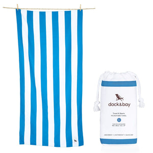 XL SAND FREE, QUICK DRY BEACH TOWEL | BONDI BLUE