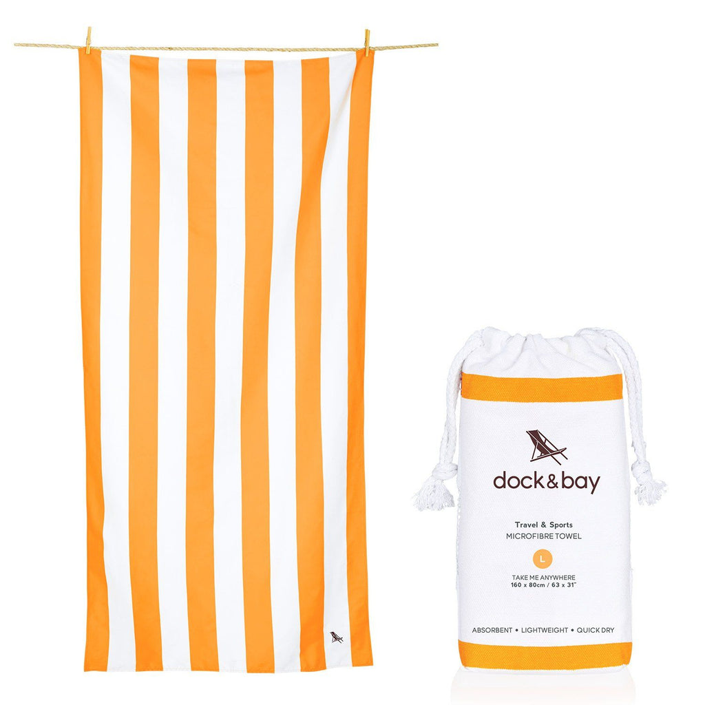 SAND FREE, QUICK DRY BEACH TOWEL | IPANEMA ORANGE