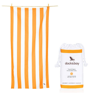 XL SAND FREE, QUICK DRY BEACH TOWEL | IPANEMA ORANGE