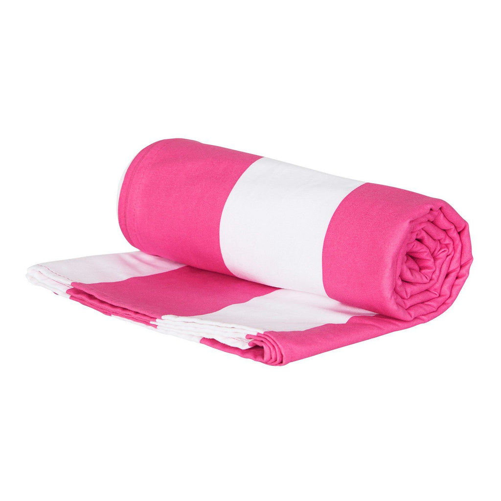 XL SAND FREE, QUICK DRY BEACH TOWEL | PHI PHI PINK