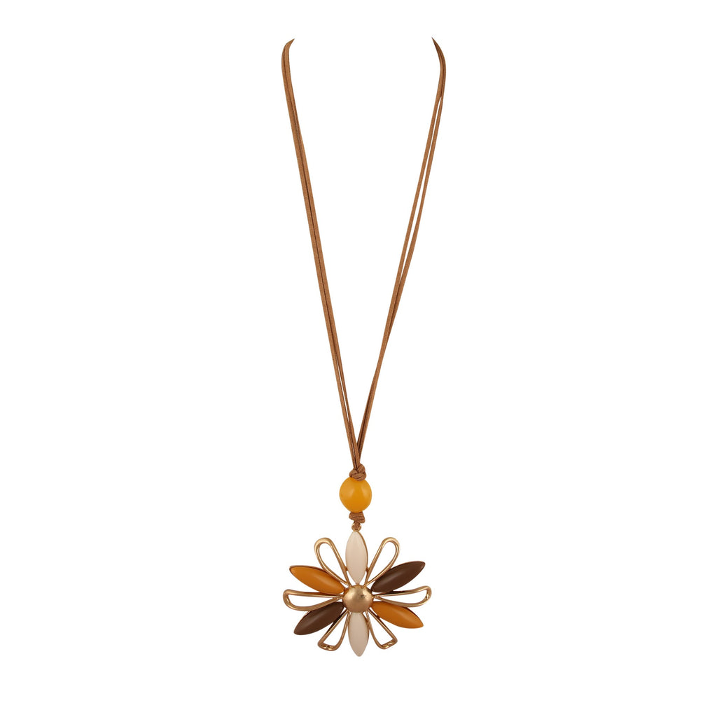TIMNA FLOWER | NECKLACE
