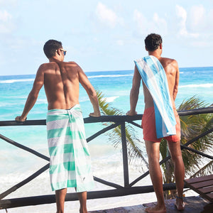 SAND FREE, QUICK DRY BEACH TOWEL | NARABEEN GREEN