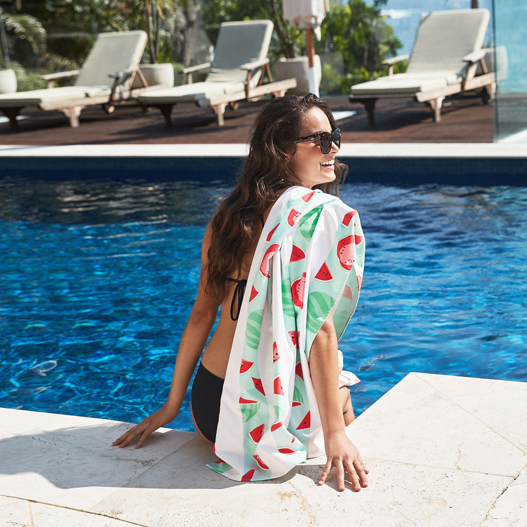 SAND FREE, QUICK DRY BEACH TOWEL | WATERMELON