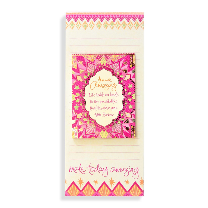 YOU ARE AMAZING | Magnetic List Pad Set
