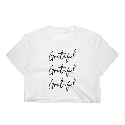 Grateful Women's Crop Top