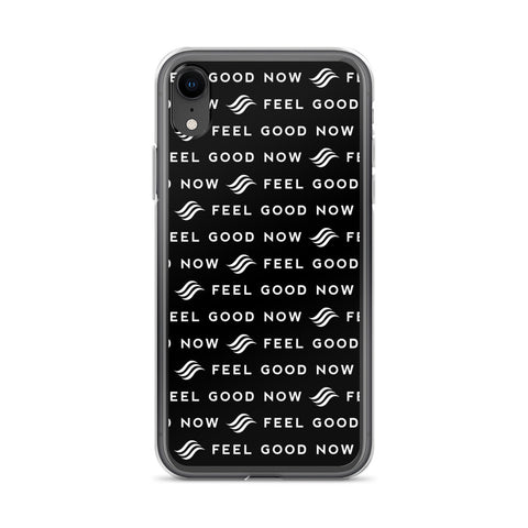 Feel Good Now Black iPhone Case
