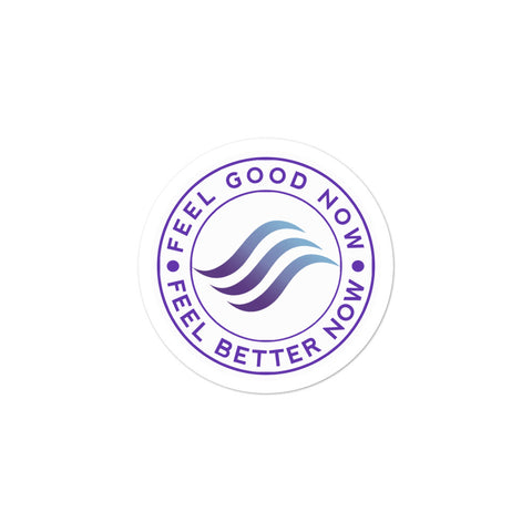 Feel Good Now & Continue to Feel Better Sticker