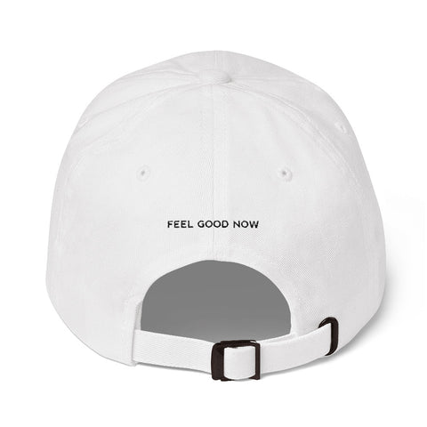 Feel Good Now Logo Dad hat
