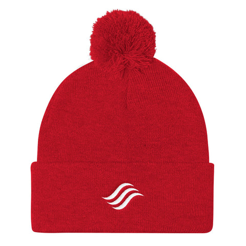 Feel Good Now Icon Pom Pom Knit Cap