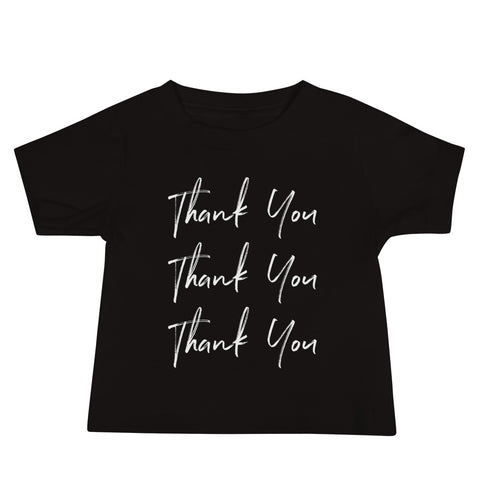 Thank You Baby Jersey T-Shirt