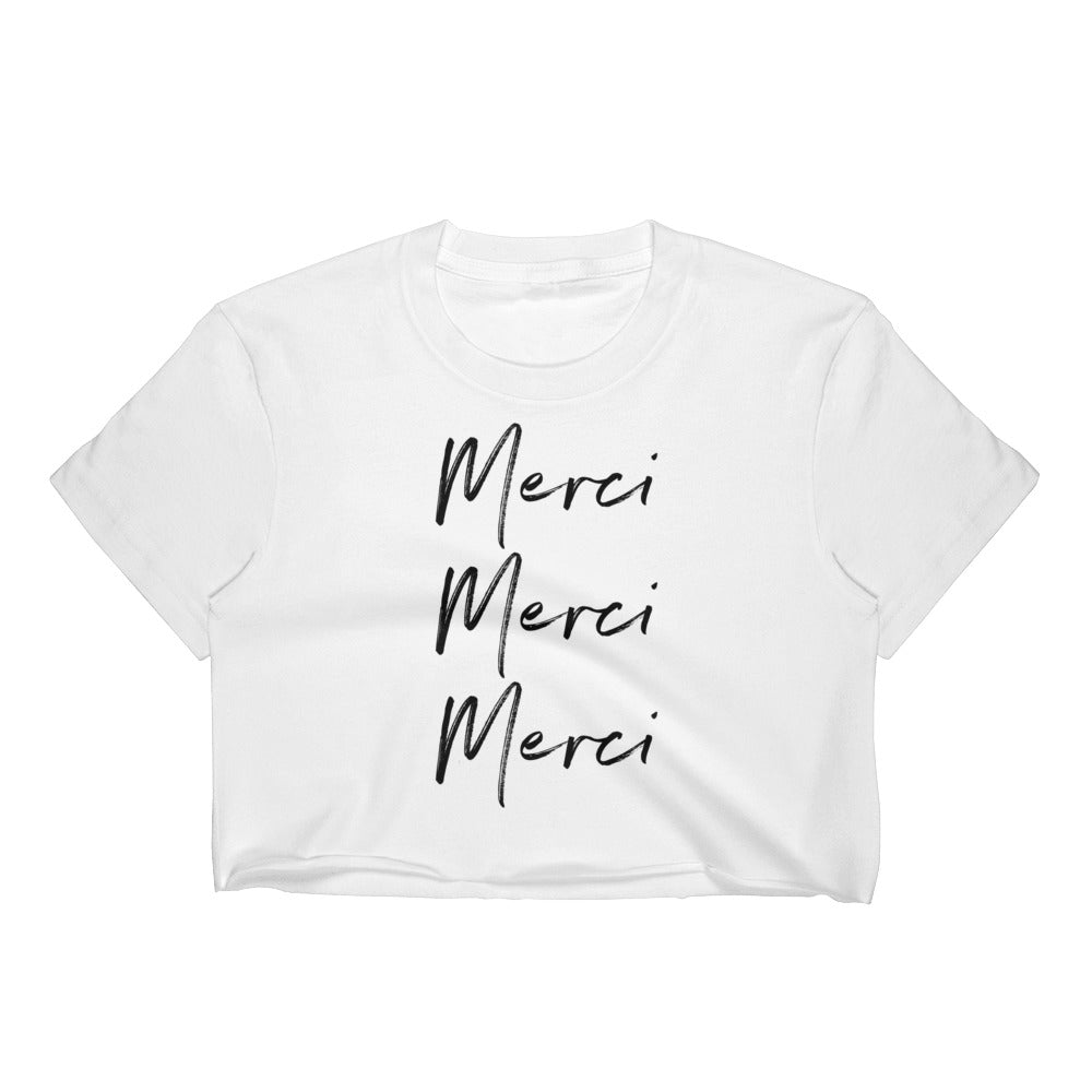 Merci Women's Crop Top