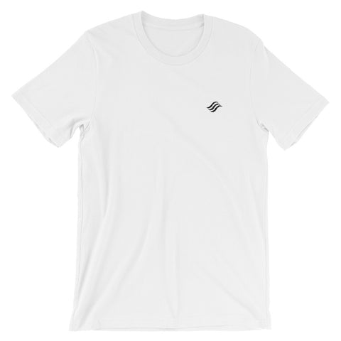 Feel Good Now Icon Embroidered Short-Sleeve Unisex T-Shirt