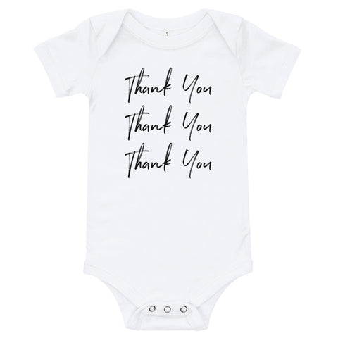 Thank You Baby Onesie