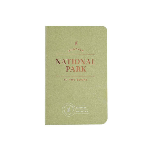 National Park Passport - Albion Mercantile Co.