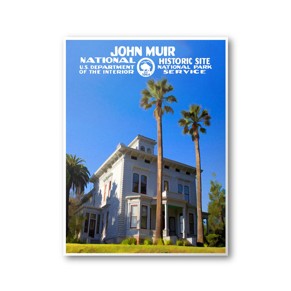 John Muir National Historic Site Poster - Albion Mercantile Co.