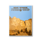 Mount Rushmore National Memorial Poster - Albion Mercantile Co.
