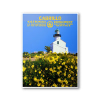 Cabrillo National Monument Poster - Albion Mercantile Co.