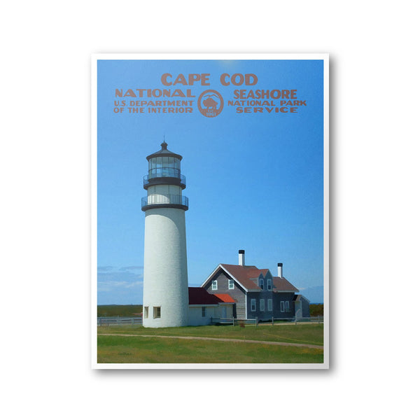 Cape Cod National Seashore Poster - Albion Mercantile Co.