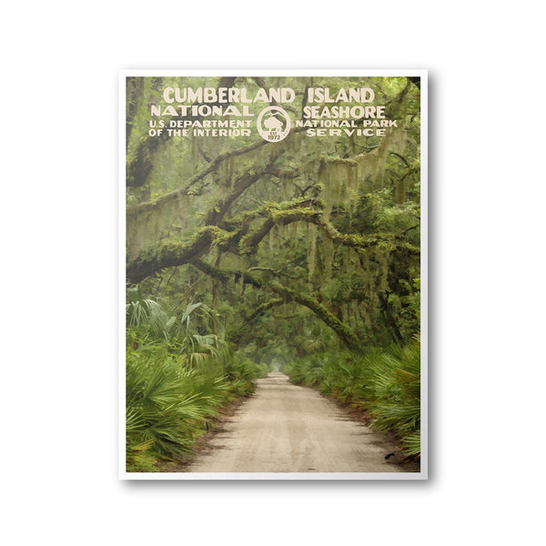 Cumberland Island National Seashore Poster - Albion Mercantile Co.