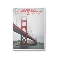 Golden Gate National Recreation Area Poster - Albion Mercantile Co.