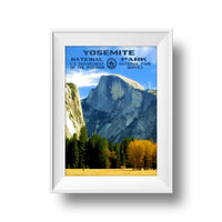 Yosemite National Park Poster (Half Dome) - Albion Mercantile Co.