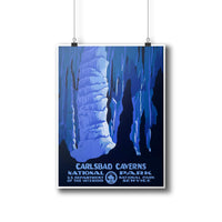 Carlsbad Caverns National Park Poster - Albion Mercantile Co.