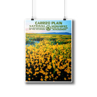 Carrizo Plain National Monument Poster - Albion Mercantile Co.
