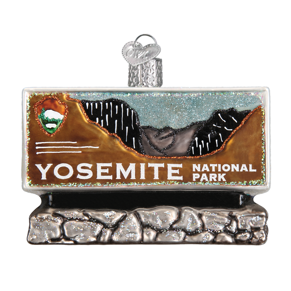 Yosemite National Park Christmas Ornament | Glass Blown - Albion Mercantile Co.