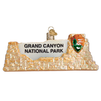 Grand Canyon National Park Christmas Ornament | Glass Blown - Albion Mercantile Co.