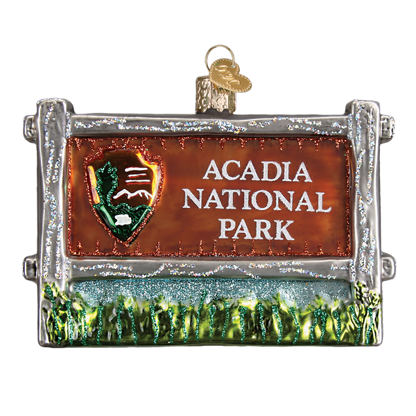 Acadia National Park Christmas Ornament | Glass Blown - Albion Mercantile Co.