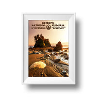 Olympic National Park Poster (Sunset) - Albion Mercantile Co.