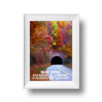 Blue Ridge Parkway Poster - Albion Mercantile Co.