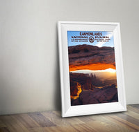 Canyonlands National Park Poster (Mesa Arch) - Albion Mercantile Co.