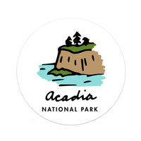 Acadia National Park Sticker - Albion Mercantile Co.