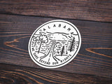 Alabama Sticker - Albion Mercantile Co.