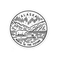 Alaska Sticker - Albion Mercantile Co.