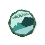American Samoa National Park Sticker | National Park Decal - Albion Mercantile Co.