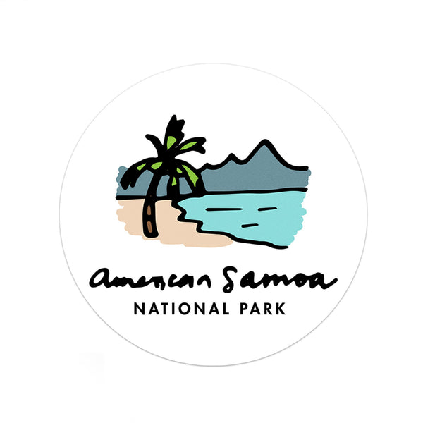 American Samoa National Park Sticker - Albion Mercantile Co.