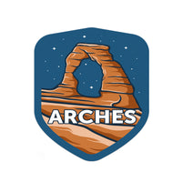 Arches National Park Sticker | National Park Decal
