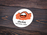 Arches National Park Sticker - Albion Mercantile Co.