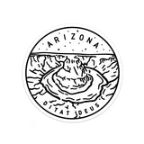 Arizona Sticker - Albion Mercantile Co.