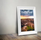 Badlands National Park Poster - Albion Mercantile Co.
