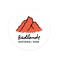 Badlands National Park Sticker - Albion Mercantile Co.