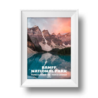 Banff National Park Poster - Albion Mercantile Co.