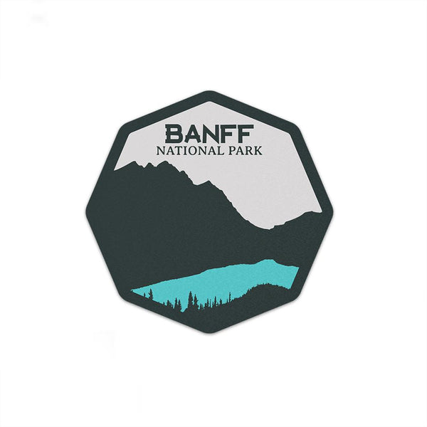 Banff National Park Sticker | National Park Decal - Albion Mercantile Co.