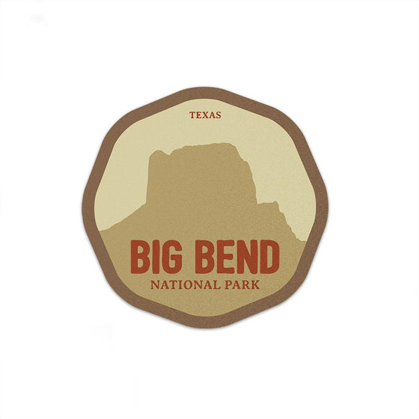 Big Bend National Park Sticker | National Park Decal - Albion Mercantile Co.