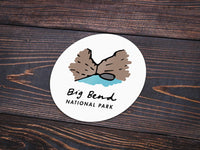 Big Bend National Park Sticker - Albion Mercantile Co.