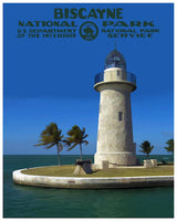Biscayne National Park Poster - Albion Mercantile Co.