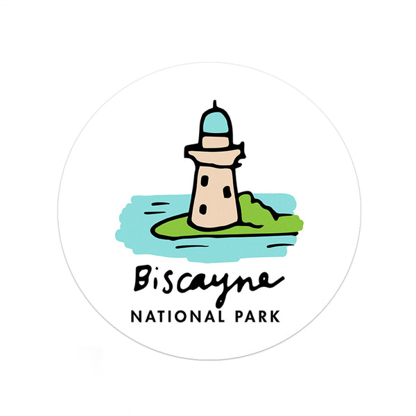 Biscayne National Park Sticker - Albion Mercantile Co.