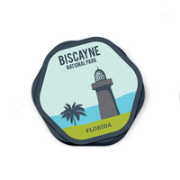 Biscayne National Park Sticker | National Park Decal - Albion Mercantile Co.
